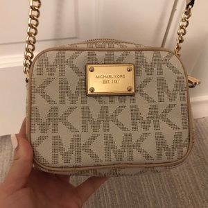 Michael Kors Purse with Matching Card Case